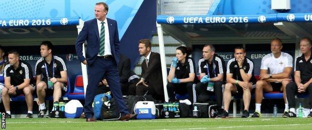 O'Neill guided Northern Ireland to the Euro 2016 finals in France