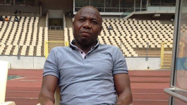 Nigeria under-17 coach Emmanuel Amuneke