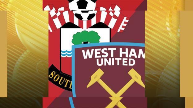 Southampton v West Ham