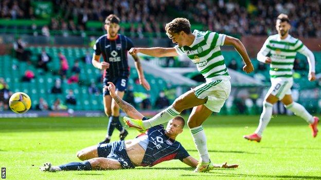 The Portuguese winger will be disappointed he failed to score a debut goal, but the 22-year-old can still be happy with his afternoon's work after being at the heart of Celtic's positive attacking play