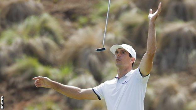 Billy Horschel in the final of the WGC Matchplay