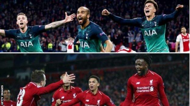 Tottenham will face Liverpool in Madrid on Saturday in the 2019 Champions League final