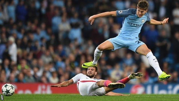Manchester City defender John Stones