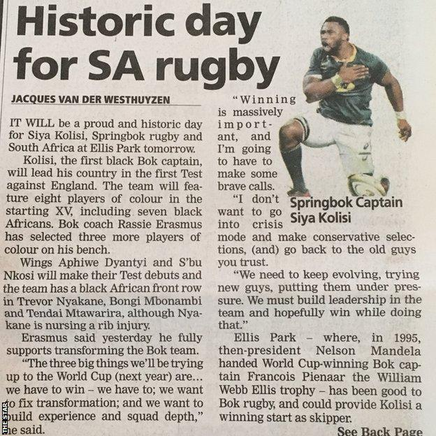 Johannesburg Star