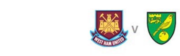 West Ham v Norwich