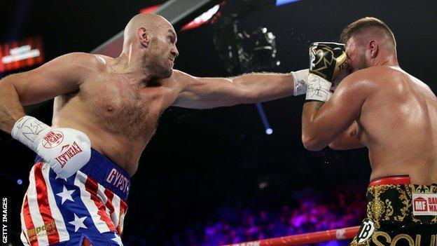 Tyson Fury dominated Tom Schwarz