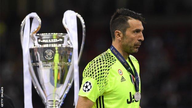 Juventus conceded more goals in the final than they have in the rest of the Champions League campaign this season