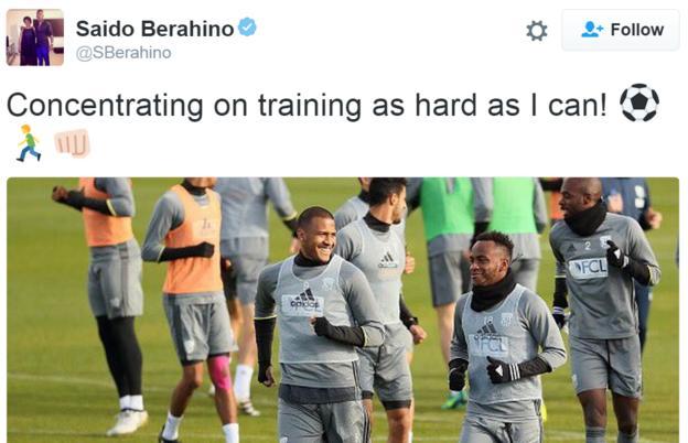 Saido Berahino Twitter