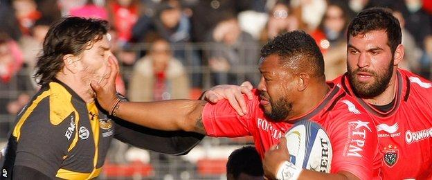 Steffon Armitage was a powerful presence in the loose for Toulon