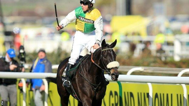 Many Clouds wins Crabbies Grand National 2015