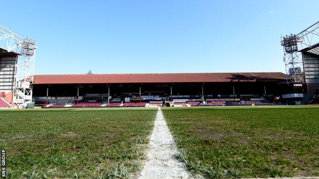 Hearts aim to build a new main stand at Tynecastle