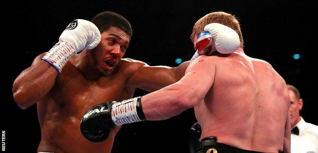 Povetkin tested Joshua early on