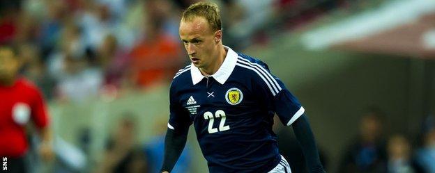 Griffiths has won six caps for Scotland