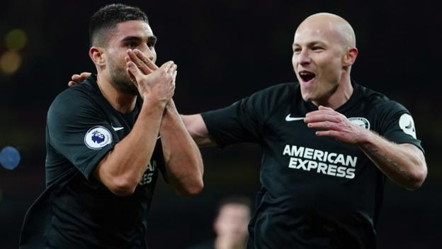 Arsenal 1-2 Brighton: Maupay seals victory for Seagulls thumbnail