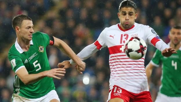 Northern Ireland finished second in their qualifying group for the 2018 World Cup and went into a play-off against Switzerland
