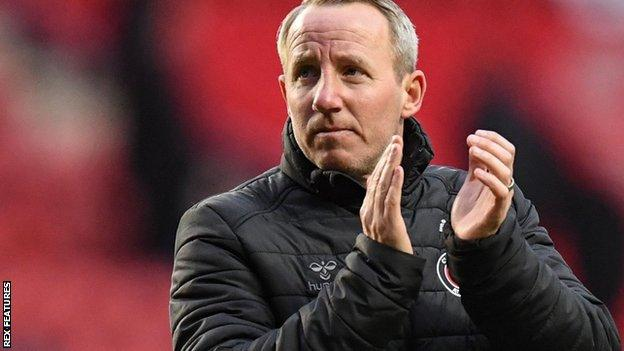 Charlton Athletic manager Lee Bowyer