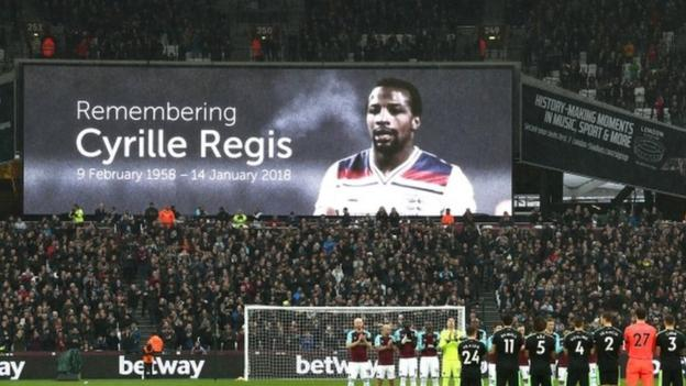 Cyrille Regis: Football pays tribute after death of former England international