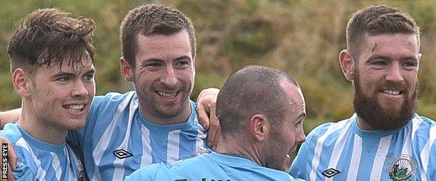 An amazing revival in the second half of the season has given Warrenpoint a chance to remain in the top flight