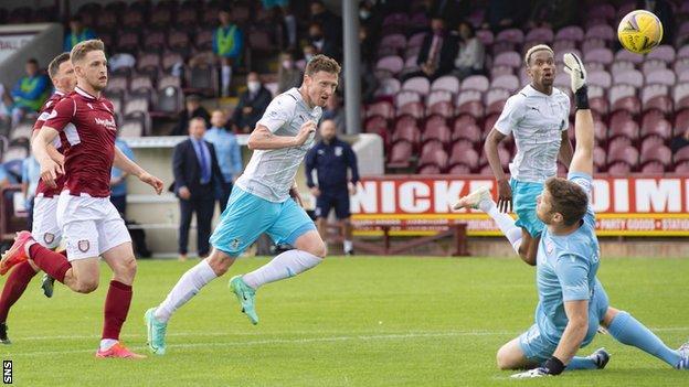 Shane Sutherland scores Inverness' winner