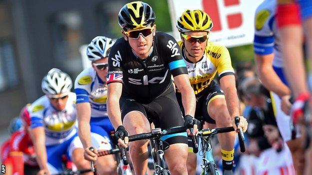 Geraint Thomas won the Tour of Algarve and E3 Harelbeke one-day classic this season