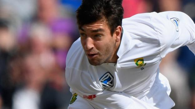 Duanne Olivier: Yorkshire sign South Africa fast bowler on three-year Kolpak deal thumbnail