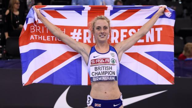 British Indoor Championships: Jemma Reekie wins to secure European Indoor spot thumbnail