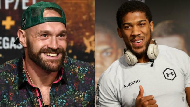 Anthony Joshua: Tyson Fury welcomes sparring offer for Deontay Wilder bout thumbnail