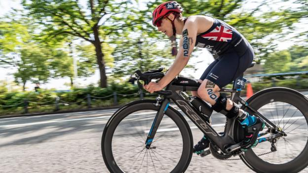 ITU World Paratriathlon Series: Great Britain win three golds in Lausanne