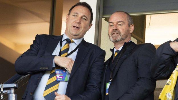 Mackay joined the SFA as performance director in 2016