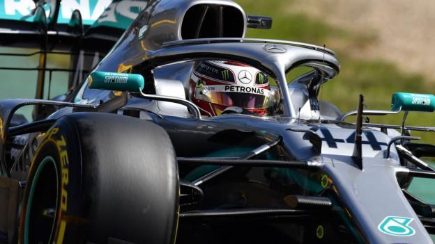 Lewis Hamilton top as Ferrari appear hide pace in Australia practice thumbnail