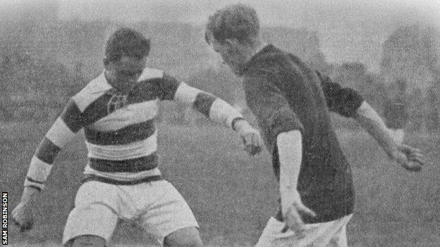 Glentoran at the Vienna Cup