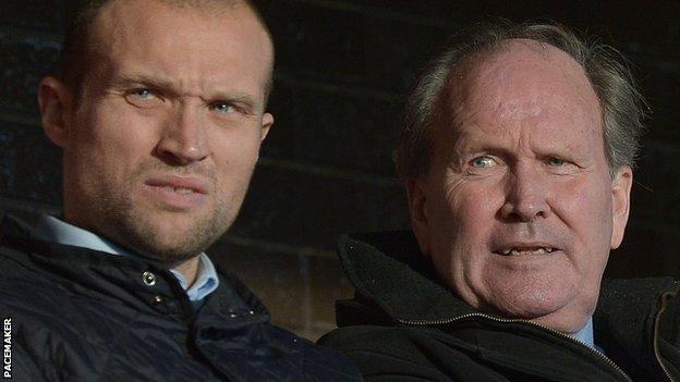 Warren Feeney and his father, Warren Sr, both played for Northern Ireland and Linfield