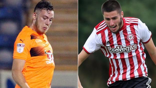 Ben House & Canice Carroll: Swindon Town sign Reading and ...