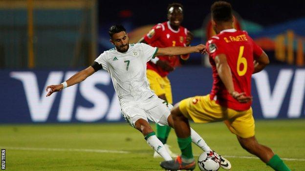 Riyad Mahrez scores