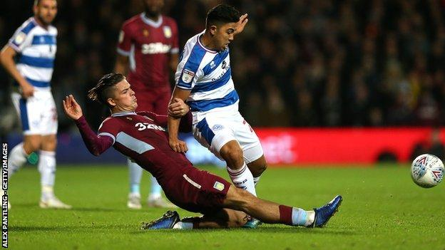 Jack Grealish came in for some close attention from QPR