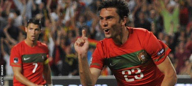 Postiga played 71 times for Portugal, scoring 27 goals