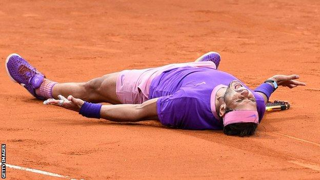 Rafael Nadal battles past Stefanos Tsitsipas for 12th Barcelona Open title thumbnail