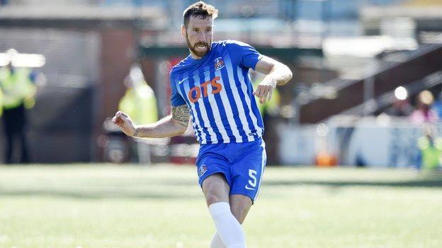 Kilmarnock defender Kirk Broadfoot