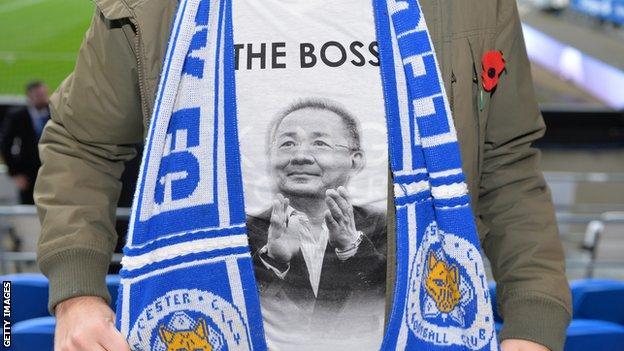 Fan wearing 'The Boss' shirt