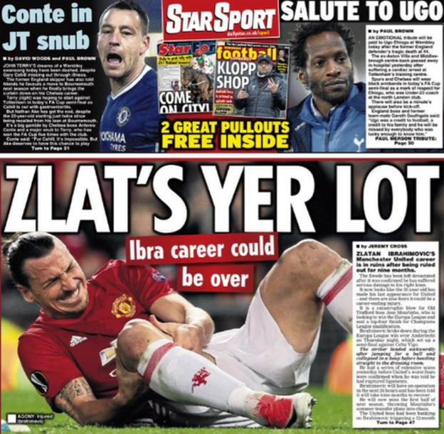 Saturday's Daily Star