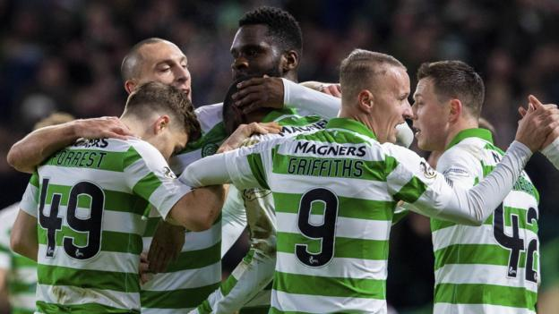 Celtic 5-0 Hearts: Neil Lennon's side 10 points clear after emphatic win thumbnail