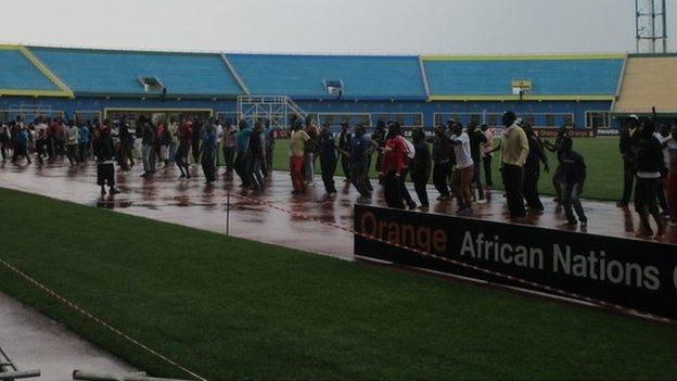 The Amahoro Stadium in Kigali