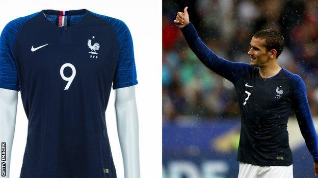 France and Antoine Griezmann