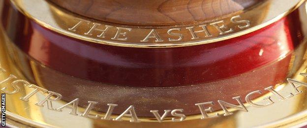 Women's Ashes trophy
