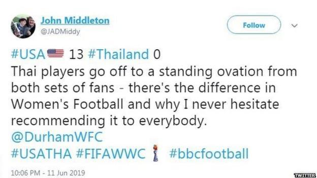 John Middleton tweets