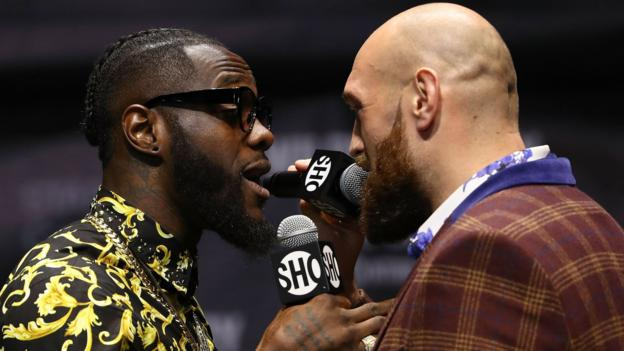 Wilder v Fury: WBC World Heavyweight champion warns 'nervous' Briton