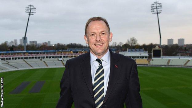 Warwickshire chief executive Neil Snowball