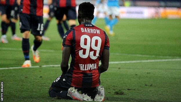 The Gambia and Bologna's Musa Barrow is 'like a young Ciro Immobile' - BBC  Sport