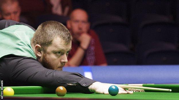 Mark Allen leads the Scottish Open 5-3 after the first session