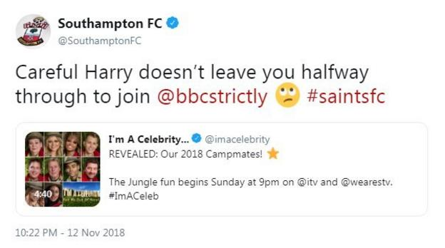 Southampton troll Harry Redknapp